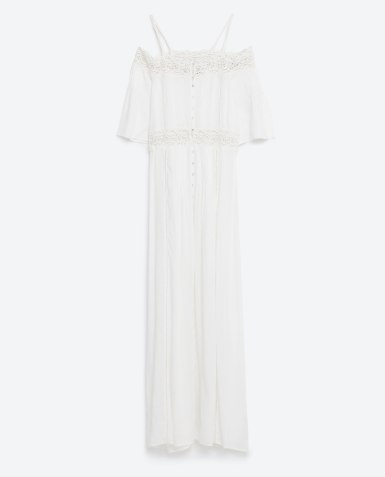 Détail de la robe Zara