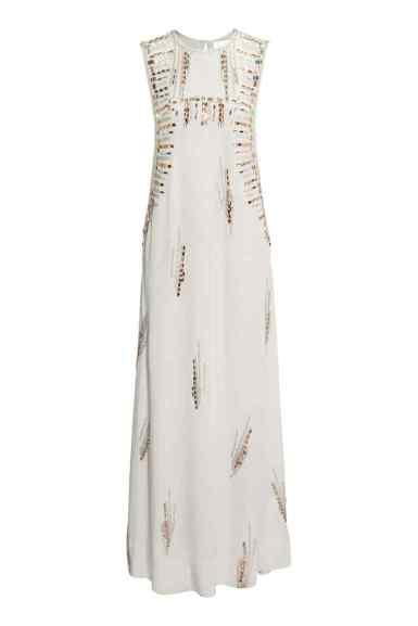 Détail robe H&M en soie