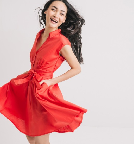 Robe rouge Promod 34.90 CHF