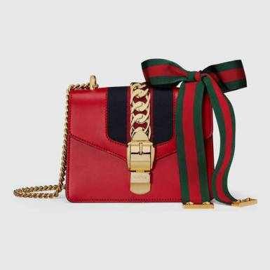 Sylvie leather mini chain bag CHF 1,610