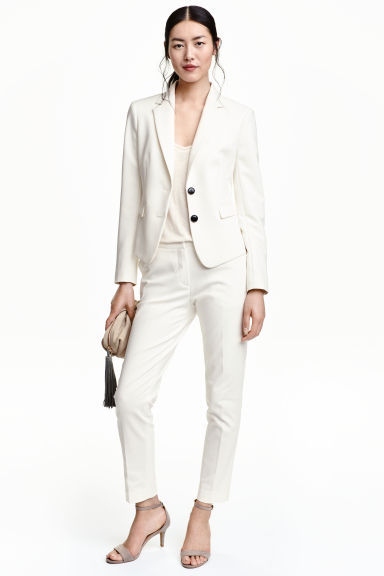Pantalons 39.90 CHF, Blazer 60.90 CHF H&M