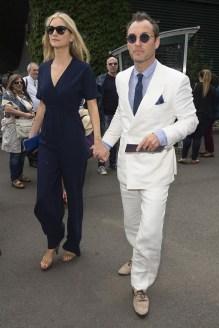 Jude Law & Phillipa Coan