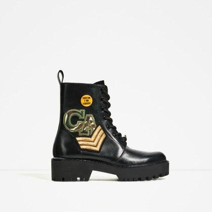 ZARA chaussures en cuir 129.90 CHF