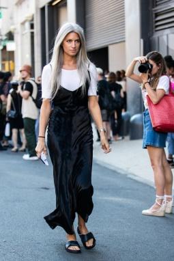 Sarah Harris Fashion Week New-York 2016