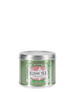 KUMSI TEA chez Globus thé vert menthe-rose