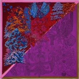 Carré Hermès les Légendes de de l'Arbre Coloriage, 410 CHF