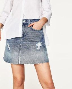 Jupe en jeans ZARA 39.90 CHF