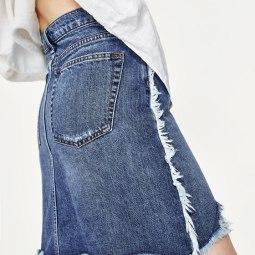 Jupe en jeans ZARA 49.90 CHF