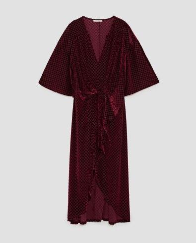 Robe en velour 49.90 CHF