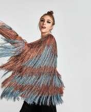 Zara, veste à franges, soldes, 49.95 CHF
