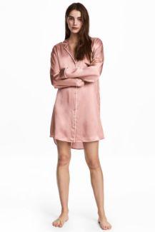 Chemise de nuit en soie H&M