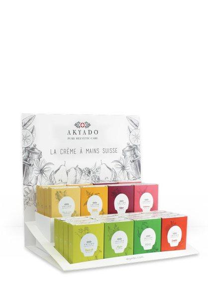 Crème pour les mains, Akyado, swiss brand