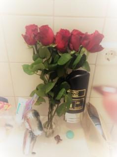Fleurs offertes par mes anciens élèves adorés